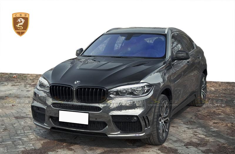 2015款宝马x6改装hamann窄体包围 - 奔驰改装,路虎